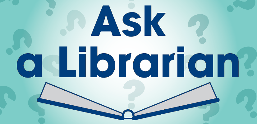 Ask-A-Librarian logo