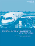Journal of Transportation and Statistics - Volume 8, Number 1