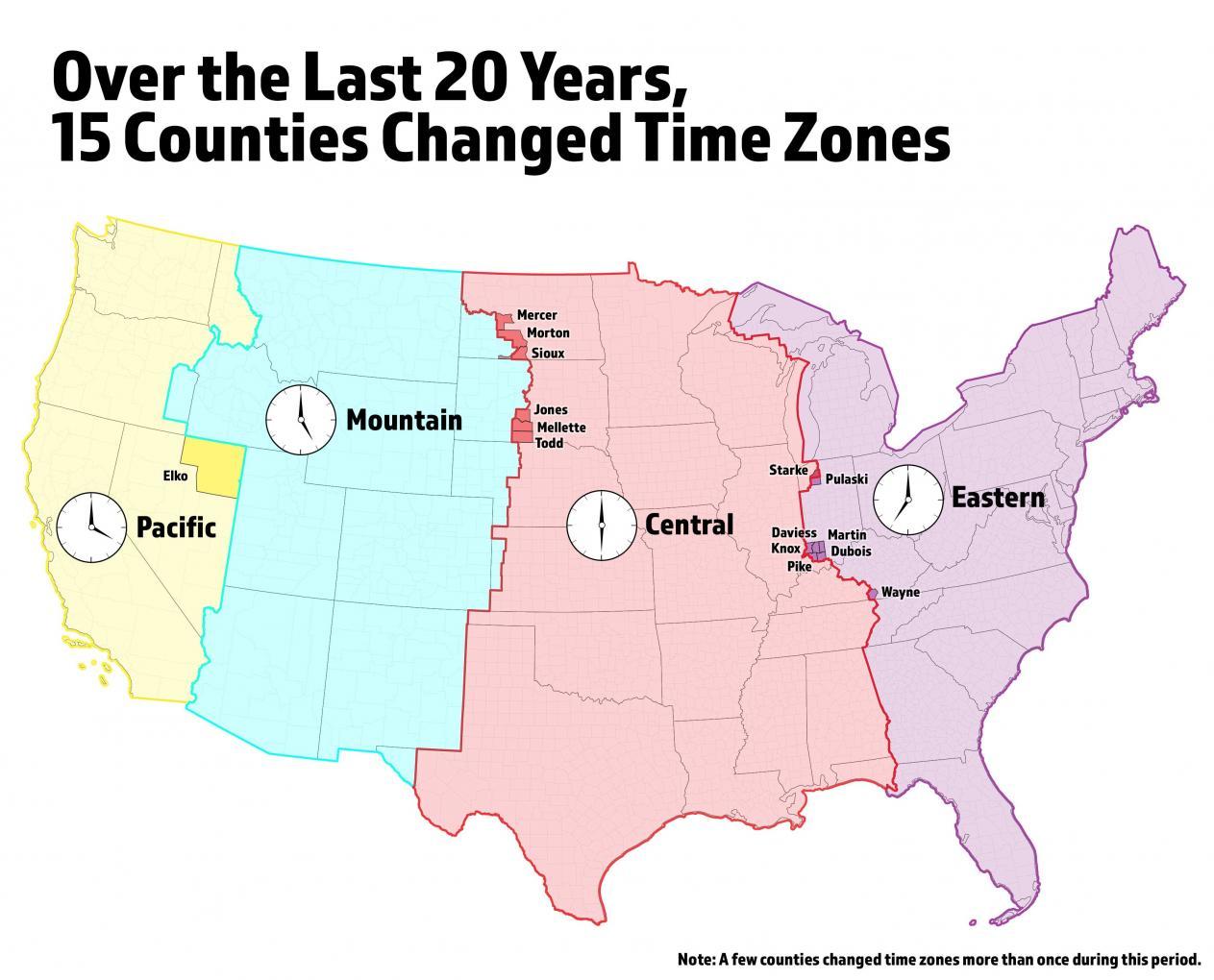 History Of Time Zones Bureau Of Transportation Statistics